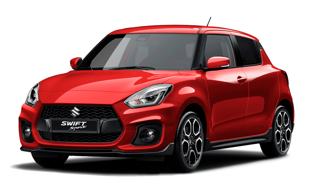 Suzuki Swift Sport - Available In Burning Red Pearl Metallic