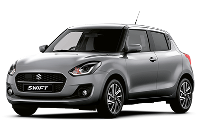 Suzuki Swift - Available In Premium Silver Metallic